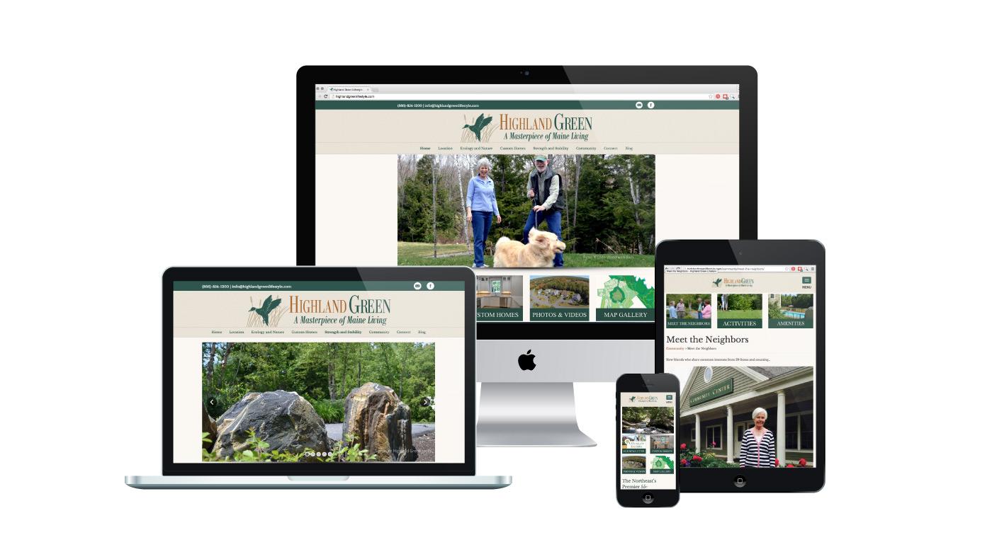 Highland Green Lifestyle | WordPress Website Design
