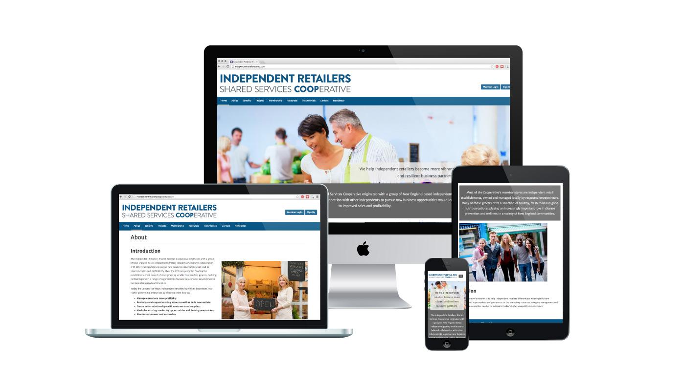 Independent Retailers Coop | WordPress Website Design
