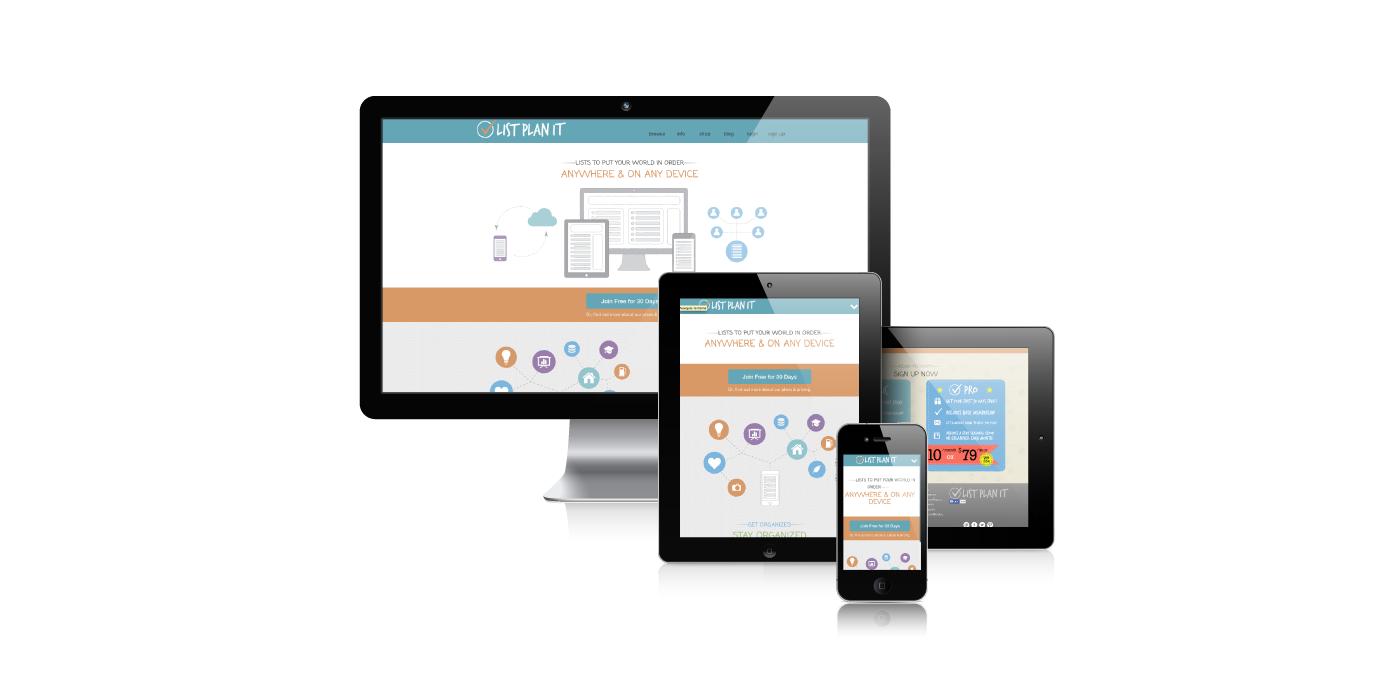 ListPlanIt | WordPress Website Design