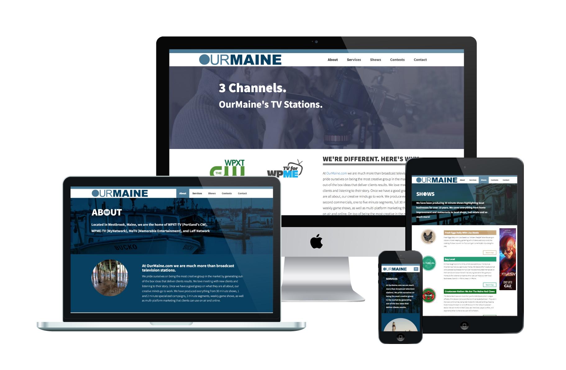 Our Maine | WordPress Website Design