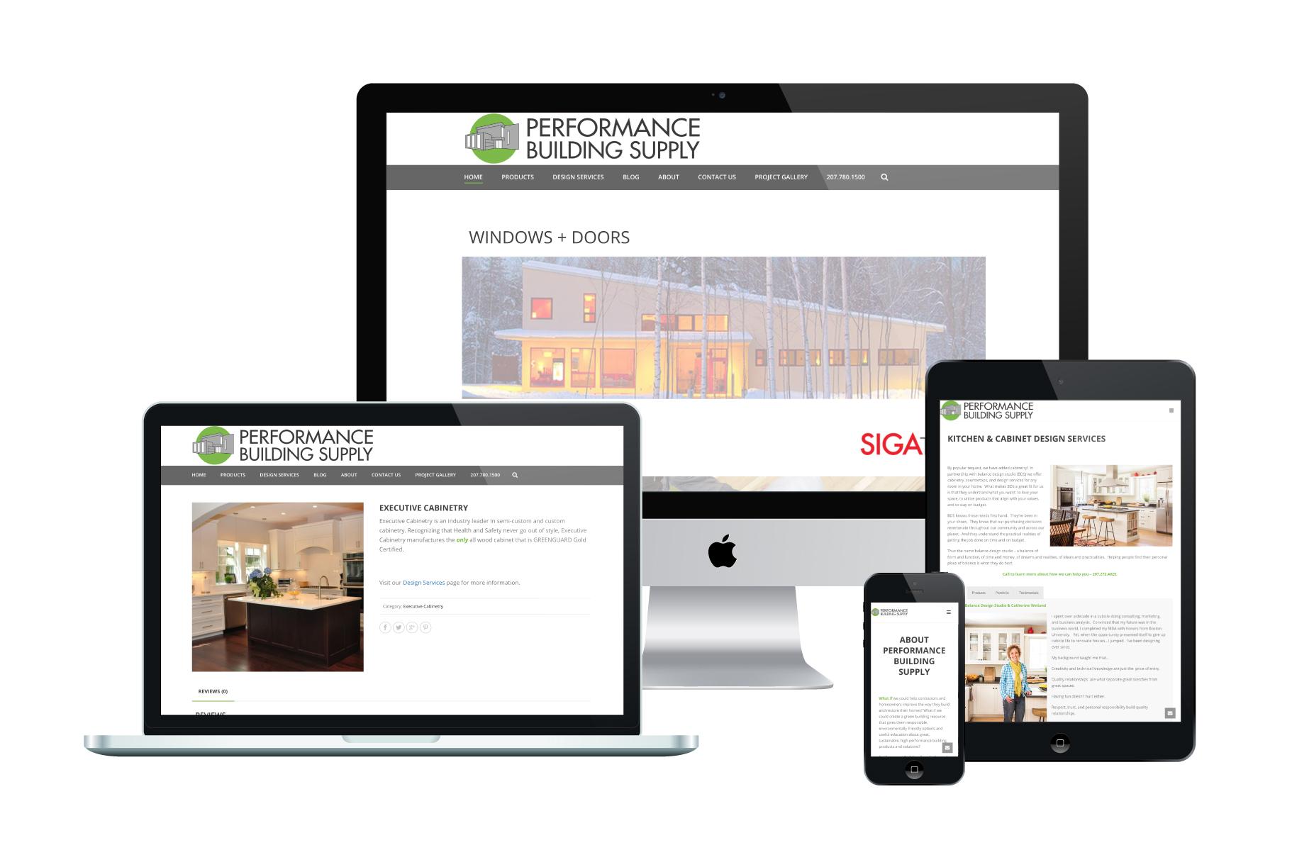 Performance Building Supply | WordPress Website Design